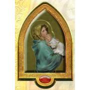 "English Ferruzzi Gold Leaf Picture Frame Vault cm.22x33.5- 8 1/2""x 13 1/4"""