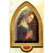 "English Lippi Gold Leaf Picture Frame Vault cm.22x33.5- 8 1/2""x 13 1/4"""