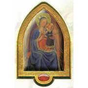 """English Mother and Child Gold Leaf Picture Frame Vault cm.22x33.5- 8 1/2""""x 13 1/4"""""""