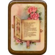 "The Lords Prayer Plaque cm. 21x29- 8 1/2""x 11 1/2"""