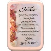 """Mother Plaque cm. 21x29- 8 1/2""""x 11 1/2"""""""