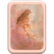 """Mother and Child Plaque cm. 21x29- 8 1/2""""x 11 1/2"""""""