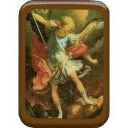 """St.Michael Plaque cm. 21x29- 8 1/2""""x 11 1/2"""""""