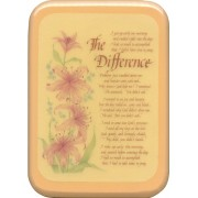 """The Difference Plaque cm. 21x29- 8 1/2""""x 11 1/2"""""""
