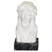 """Bust of Jesus (With Base) cm.12 - 4 3/4"""""""