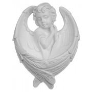 "Guardian Angel Waterfont cm.11- 4 1/4"""