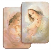 """Mother and Child 3D Bi-Dimensional Cards cm.5.5x8.2- 2 1/8""""x 3 1/4"""""""