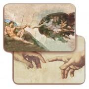 "The Creation 3D Bi-Dimensional Cards cm.5.5x8.2- 2 1/8""x 3 1/4"""