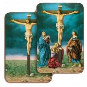 """rucifixion 3D Bi-Dimensional Cards cm.5.5x8.2- 2 1/8""""x 3 1/4"""""""
