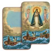 """Our Lady of Cobre 3D Bi-Dimensional Cards cm.5.5x8.2- 2 1/8""""x 3 1/4"""""""