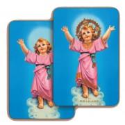 "Baby Jesus 3D Bi-Dimensional Cards cm.5.5x8.2- 2 1/8""x 3 1/4"""