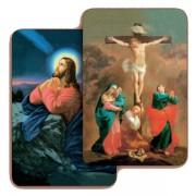 """The Crucifixion/ Jesus 3D Bi-Dimensional Cards cm.5.5x8.2- 2 1/8""""x 3 1/4"""""""