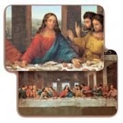 """The Last Supper 3D Bi-Dimensional Cards cm.5.5x8.2- 2 1/8""""x 3 1/4"""""""