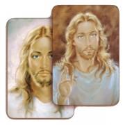 "Jesus 3D Bi-Dimensional Cards cm.5.5x8.2- 2 1/8""x 3 1/4"""