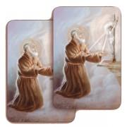"""Padre Pio 3D Bi-Dimensional Cards cm.5.5x8.2- 2 1/8""""x 3 1/4"""""""