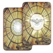 "Holy Spirit 3D Bi-Dimensional Cards cm.5.5x8.2- 2 1/8""x 3 1/4"""