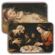 """Nativity 3D Bi-Dimensional Cards cm.5.5x8.2- 2 1/8""""x 3 1/4"""""""
