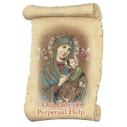 """Our Lady of Perpetual Help Fridge Magnet cm.5x8- 2""""x 3 1/4"""""""