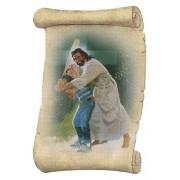 """Jesus Baseball Fridge Magnet cm.5x8- 2""""x 3 1/4"""""""