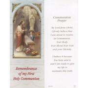 "Communion Boy Bookmark cm.6x15.5- 2 1/2""x 6 1/8"""
