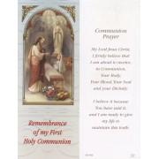 "Communion Girl Bookmark cm.6x15.5- 2 1/2""x 6 1/8"""