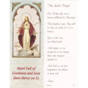 "The Lord's Prayer Bookmark cm.6x15.5- 2 1/2""x 6 1/8"""