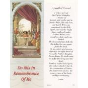 "Apostles Creed Bookmark cm.6x15.5- 2 1/2""x 6 1/8"""