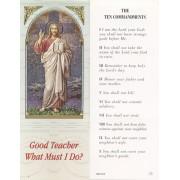 """Ten Commandments Bookmark cm.6x15.5- 2 1/2""""x 6 1/8"""""""