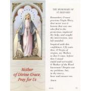 "The Memorare of St.Bernard Bookmark cm.6x15.5- 2 1/2""x 6 1/8"""