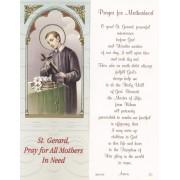 "Prayer for Motherhood Bookmark cm.6x15.5- 2 1/2""x 6 1/8"""