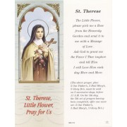 """St.Therese Bookmark cm.6x15.5- 2 1/2""""x 6 1/8"""""""