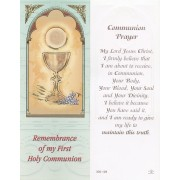 "Communion Chalice Bookmark cm.6x15.5- 2 1/2""x 6 1/8"""