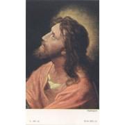 """Tarjeta santa de Jesús cm.7x12- 2 3/4 """"x 4 3/4"""""""