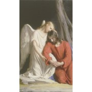 """Holy card of the Guardian Angel cm.7x12- 2 3/4""""x 4 3/4"""""""