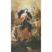 "Holy card of Assumption cm.7x12- 2 3/4""x 4 3/4"""