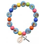 Pulsera multicolor de los niños