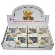 24pc Display of Communion Rosaries