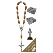 Miraculous Car Statue SCBMC1 with Decade Rosary RD164-1