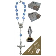 Miraculous Car Statue SCBMC1 with Decade Rosary RD850-11