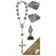 Miraculous Car Statue SCBMC1 with Decade Rosary RD1480S