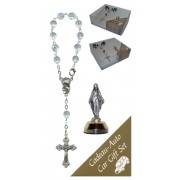 Miraculous Car Statue SCBMC1 with Decade Rosary RDT400-15