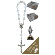 Miraculous Car Statue SCBMC1 with Decade Rosary RDI28