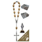 Miraculous Car Statue SCBMC1 with Decade Rosary RDO28