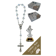 Medjugorje Car Statue SCBMC8 with Decade Rosary RDT400-15
