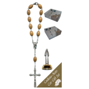 St.Rita Car Statue SCBMC11 with Decade Rosary RDO28