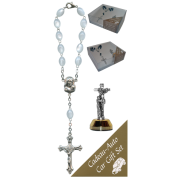 St.Francis Car Statue SCBMC13 with Decade Rosary RDI28