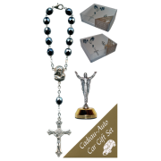 The Resurrection Car Statue SCBMC16 with Decade Rosary RD850A-14