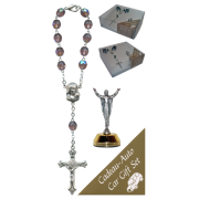 The Resurrection Car Statue SCBMC16 with Decade Rosary RD850A-16