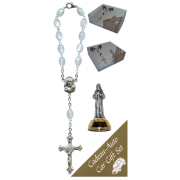 St.Francis Car Statue SCBMC17 with Decade Rosary RDI28