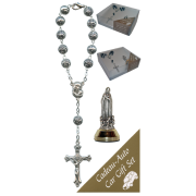 Fatima Car Statue SCBMC18 with Decade Rosary RD1480S